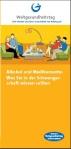 Faltblatt Akohol und Medikamente in der Schwangerschaft