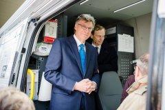 Staatssekretär Lutz Stroppe im Diabetes Info-Mobil