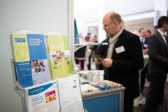 Informationsstand der Bundeszentrale für gesundheitliche Aufklärung