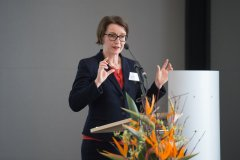 Kathrin Knufmann-Happe, Ministerialdirektorin, Leiterin der Abteilung Gesundheitsschutz, Krankheitsbekämpfung, Biomedizin im Bundesministerium für Gesundheit